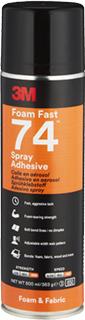 3M Sprühklebstoff auf Basis Synthetischer Elastomere Foam Fast 74 – für Schaumstoffe