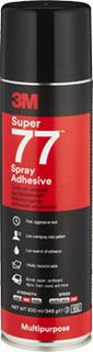 3M Sprühklebstoff auf Basis Synthetischer Elastomere Super 77 – das Multi-Talent