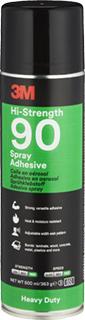 3M Sprühklebstoff auf Basis Synthetischer Elastomere Hi-Strength 90 – für hochfeste Verbindungen