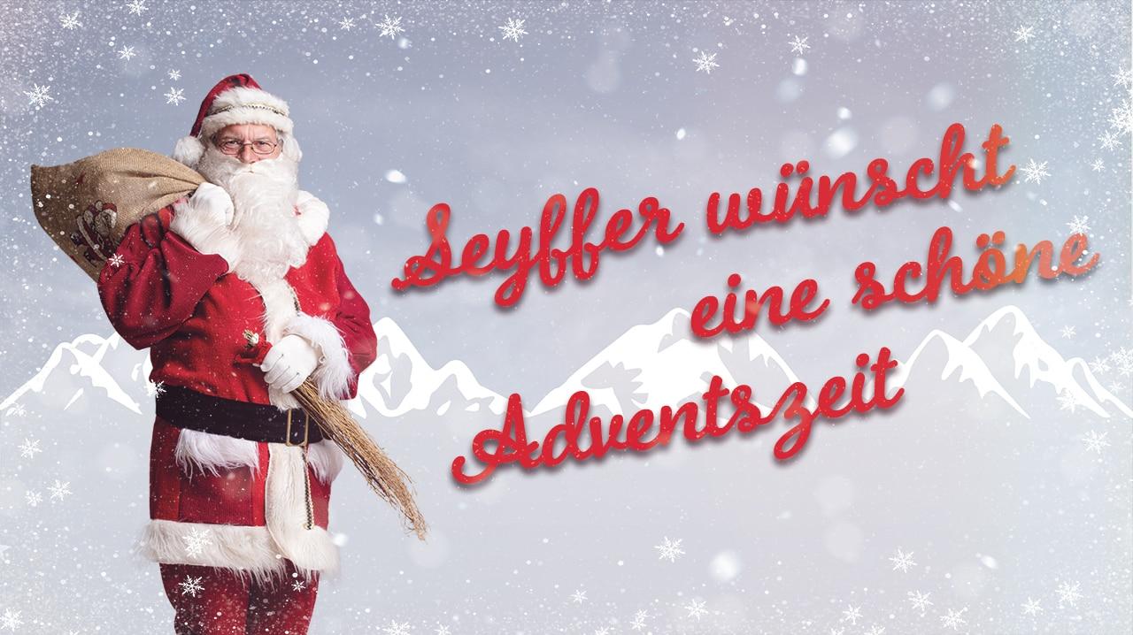 Weihnachtsgrüße aus Mannheim: Seyffer wünscht schöne Adventszeit